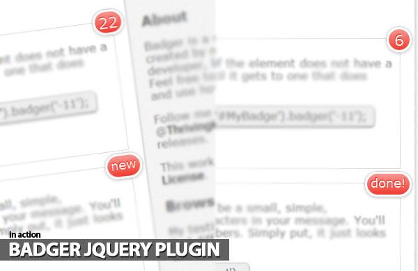 badger-jquery-plugin