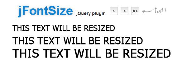jfontsize-jquery-plugin