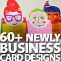 Post thumbnail of Business Cards: 60+ Newly Business Card Designs