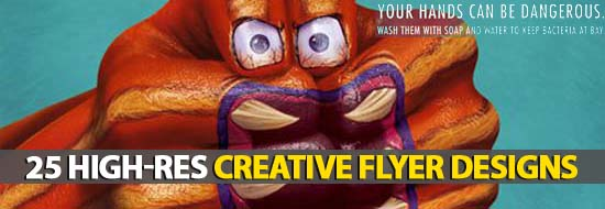 25 High-Res Creative Flyer Designs