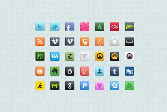 25 Fresh Free Icon Sets