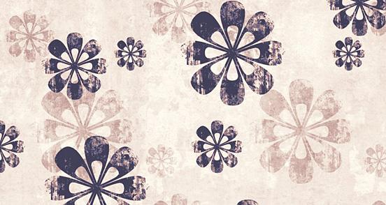 Grungy Mauv Pattern Design
