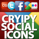 Post thumbnail of Crispy Social Bookmarking Icon Set