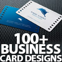 Post thumbnail of 100+ Business Card Designs