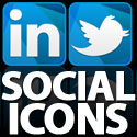 Post thumbnail of Crystal Blue Social Media Icons