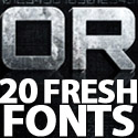 Post Thumbnail of Free Fonts: 20 Fresh Fonts For Designers