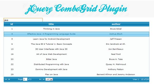 jquery-combogrid-plugin