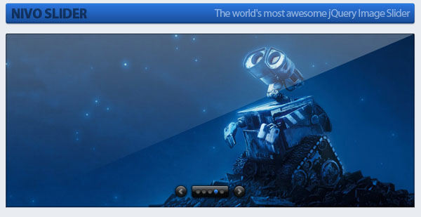 Nivo Slider Image slider jQuery Plugin