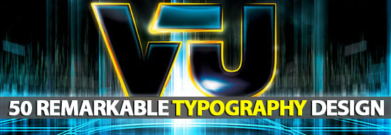 Post image of 50 Remarkable Typography Design For Inspiration