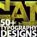 Post thumbnail of 50+ Typography Designs Stunning & Inspiring