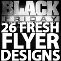 Post thumbnail of 26 Fresh Flyer Designs Part – 1