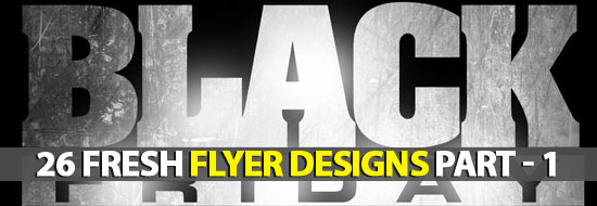 Post image of 26 Fresh Flyer Designs Part – 1