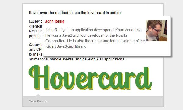 hovercard-jquery-plugin