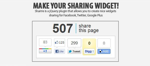 sharing-widget-jquery-plugin