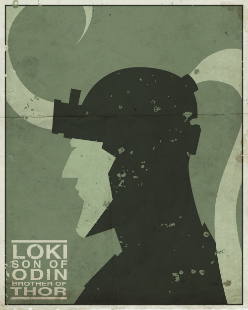 Vintage Minimalist Posters