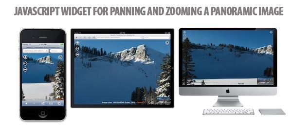 Javascript Image Zooming & Panning: Panojs3