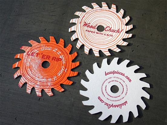 35+ Die Cut Business Card Designs
