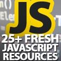 Post thumbnail of 25+ Fresh JavaScript Resources