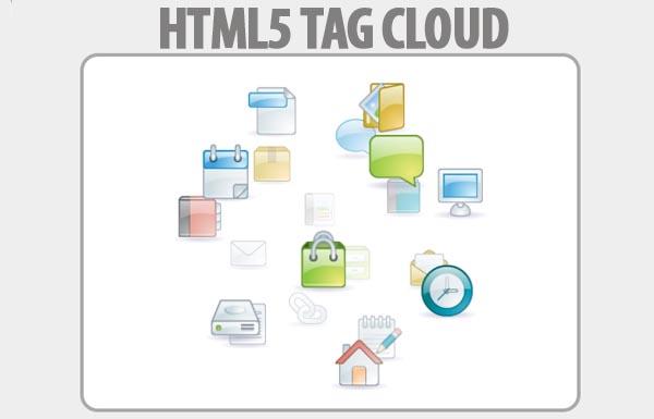 Animated Tag Cloud: TagCanvas
