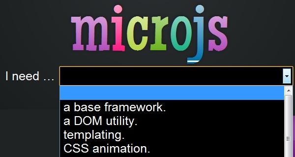 micro-javascript-FantasticMicro-Frameworks