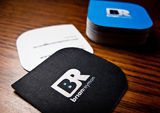 Square Business Cards Creative & Inspiring