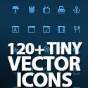 Post thumbnail of 120+ Tiny Vector Pixel-Perfect Icons Set