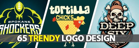 Post image of Trendy Logo Design 65 Logos