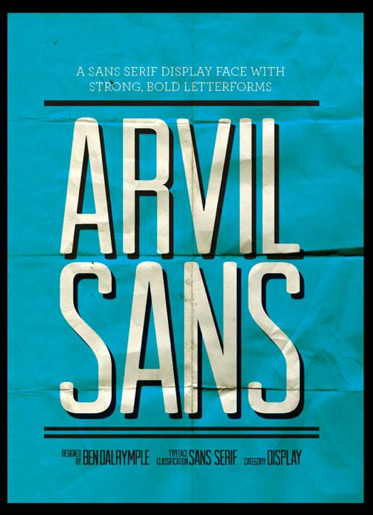Arvil Free Font