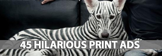 45 Hilarious Print Ads