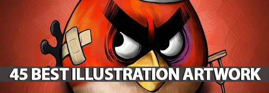 45 Best Illustration Artwork For Design Lovers