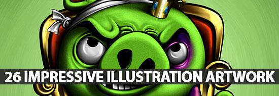 26 Impressive Illustration Artwork