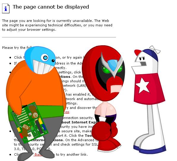 404 Page Designs
