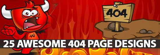 Post image of 25 Awesome 404 Page Designs