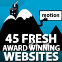 Post thumbnail of 45 Fresh Award Winning Websites