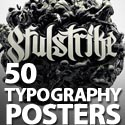 Post thumbnail of 50 Heart-Touching Typography Posters