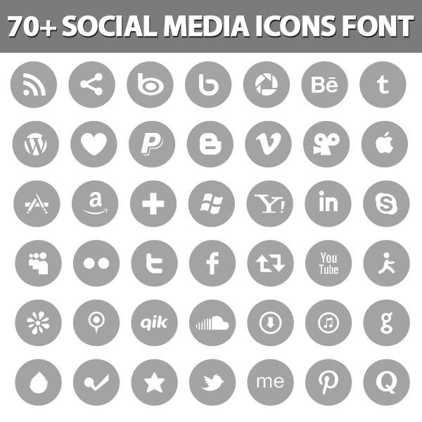 Social Icons Font