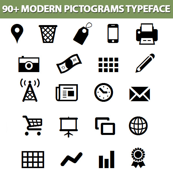Modern-Pictograms-specimen