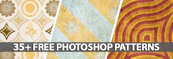 35+ Free Photoshop Patterns