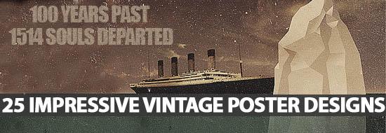 Post image of 25 Impressive Vintage Poster Designs