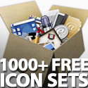 Post thumbnail of Free Icon Sets: 1000+ Vector, Social, PSD, UI Icons