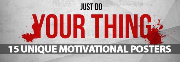 15 Unique Motivational Posters