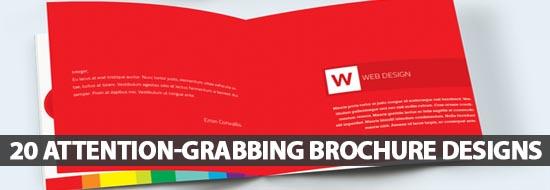 20 Attention-Grabbing Brochure Designs for Successful Marketing Campaign