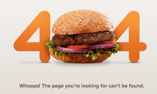 404 Error Pages Design