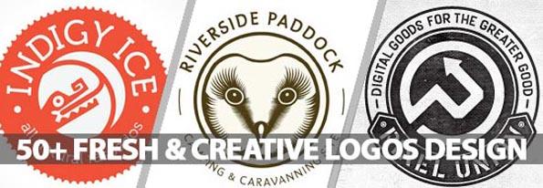 Logo Design: 50+ Fresh & Creative Logos