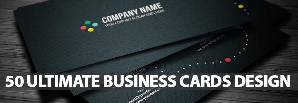50 Ultimate Business Cards Design