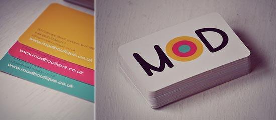 Business cards design