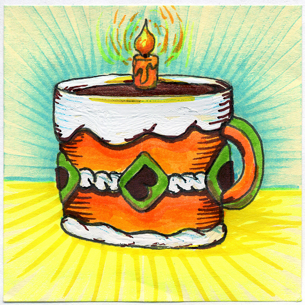 50 Beautiful Coffee Mug Illustration