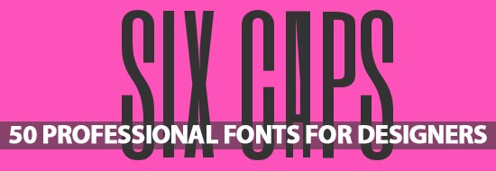 Free Fonts: 50 Professional Fonts For Designers