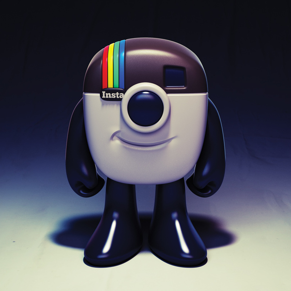 Instagram Mascot