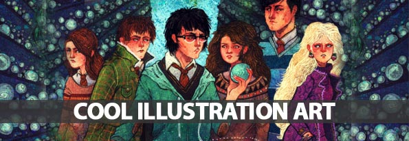 Cool Illustration Art For Inspiration